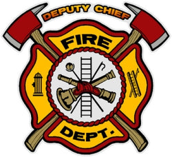 Deputy Chief Decal