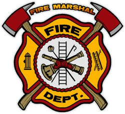 Fire Marshal Decal