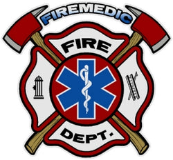Fire Medic Decal