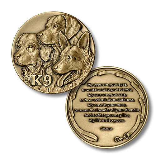 K9 Tribute Coin