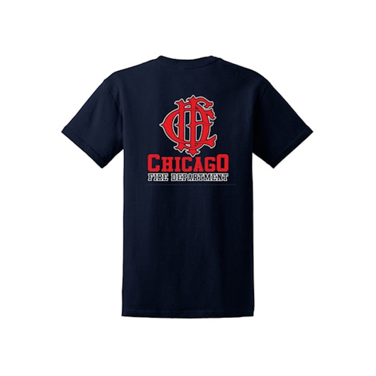 Chicago Fire Dept Tshirt Firefighter Com