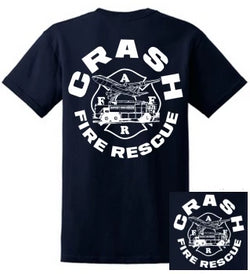 ARFF Crash Rescue Tshirt Firefighter Gifts