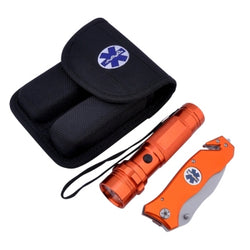 EMS Knife and Flashlight Combination