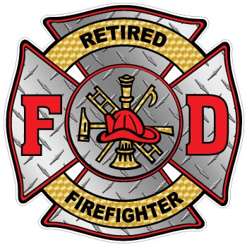 Retired Firefighter Decal