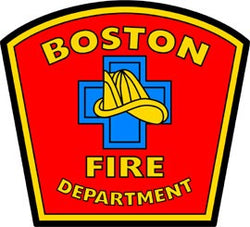 Boston Fire Department Decal