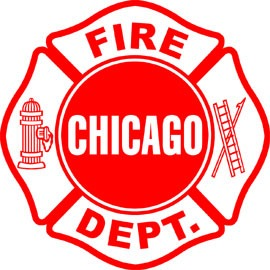 Chicago Fire Department Decal