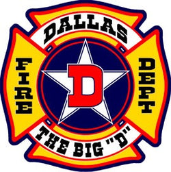 Dallas Fire Dept. Decal