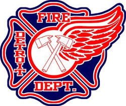 Detroit Fire Dept. Decal