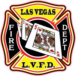 Las Vegas Fire Dept. Decal