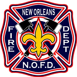 New Orleans Fire Dept. Decal