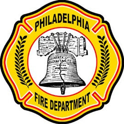 Philadelphia Fire Dept. Decal