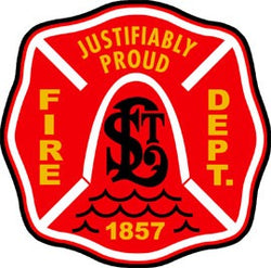 St. Louis Fire Dept. Decal