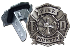 FD Pewter Hitch Cover