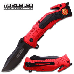 Firefighter Assisted Opening Folding Knife