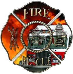 Fire Rescue Engine Company Decal