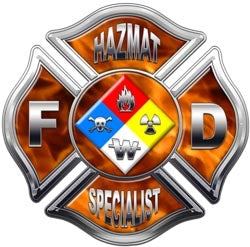 Hazmat Specialist  Decal