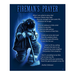 Firefighter Prayer Blanket