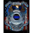 Police Honor Duty Hooded T-shirt