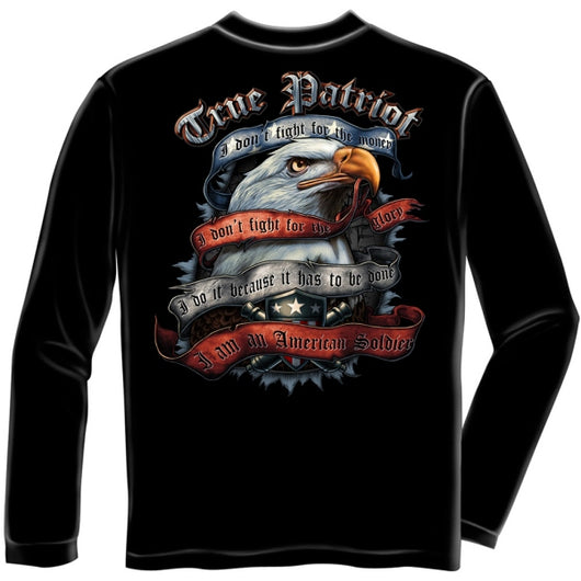 True Patriot Soldier Long Sleeve T-shirt