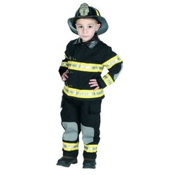 Jr Firefighter Bunker Gear Black