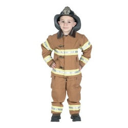 Jr Firefighter Bunker Gear Tan