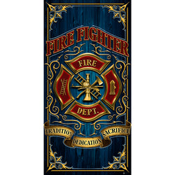 Firefighter Beach Towel