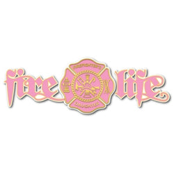 Fire Life Daughter Decal