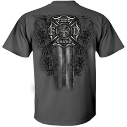 Fire Within - Pride Honor Firefighter Tshirt