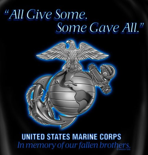 USMC Some Gave All Tshirt