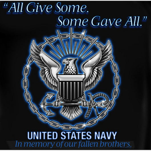 Navy All Gave Some T-shirt