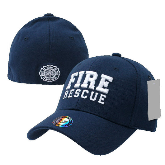 Fire Rescue Stretch to Fit Hat
