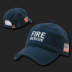 Fire Rescue Flag Hat