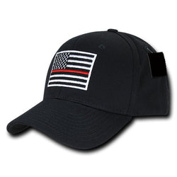Thin Red Line Embroidered Hat