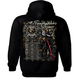 Hoody IAFF Firefighters Prayer