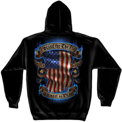 Stand for the Flag Kneel to Pray Hoodie