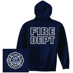 Fire Dept Hoodie Firefighter Gifts