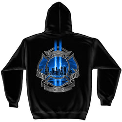 Bravery Honor Firefighter Hoody
