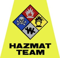 Hazmat Team Helmet Tet Decal