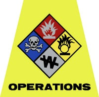 Operations Helmet Tet Decal
