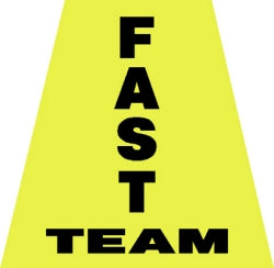 Fast Team Helmet Tetrahedron Decal