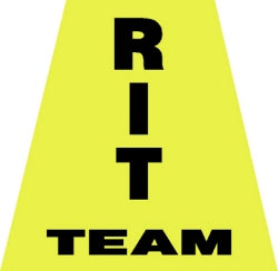 RIT Team Helmet Tetrahedron Decal