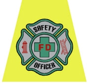 Safety Officer Helmet Tet Decal