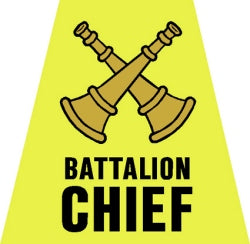 Battalion Chief Tetrahedron Decal