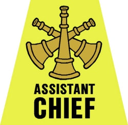 Assistant Chief Tetrahedron Decal