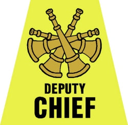 Deputy Chief Tetrahedron Decal