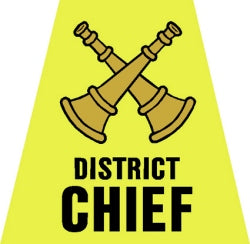 District Chief Tetrahedron Decal