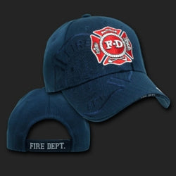 Fire Dept Maltese/Shadow Hat