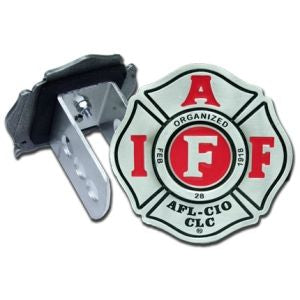 IAFF Pewter Hitch Cover
