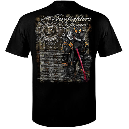 IAFF Firefighters Prayer T-Shirt