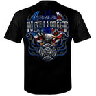 IAFF Never Forget Eagle Tshirt Firefighter Gifts